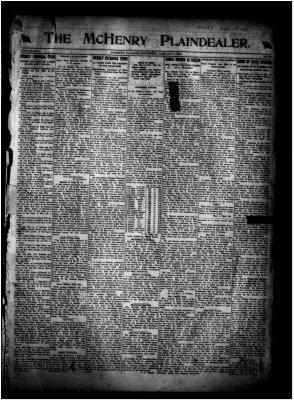 McHenry Plaindealer (McHenry, IL), 2 Jan 1919