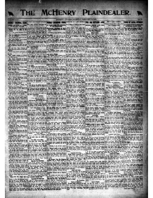 McHenry Plaindealer (McHenry, IL), 13 Feb 1919