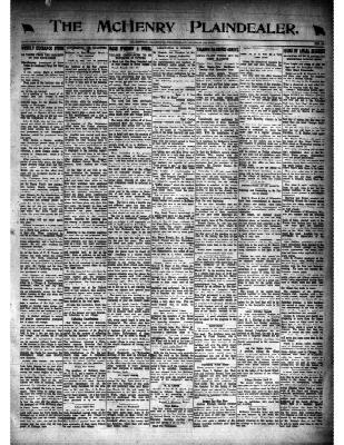 McHenry Plaindealer (McHenry, IL), 13 Mar 1919