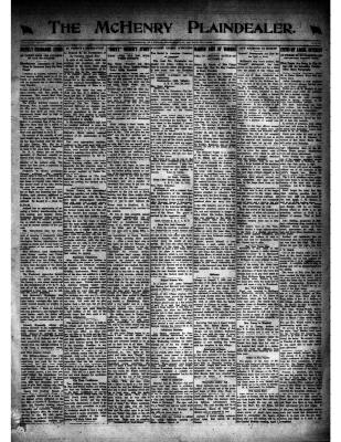 McHenry Plaindealer (McHenry, IL), 20 Mar 1919