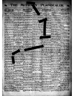 McHenry Plaindealer (McHenry, IL), 3 Apr 1919