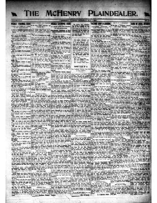 McHenry Plaindealer (McHenry, IL), 1 May 1919
