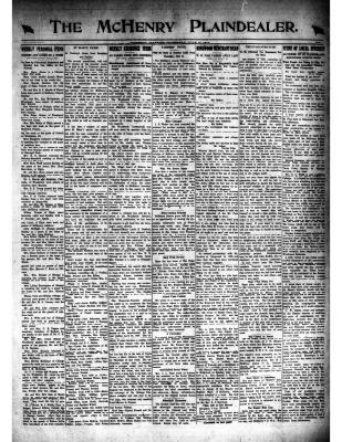 McHenry Plaindealer (McHenry, IL), 17 Jul 1919
