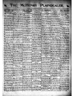 McHenry Plaindealer (McHenry, IL), 21 Aug 1919