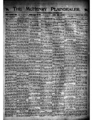 McHenry Plaindealer (McHenry, IL), 1 Sep 1921