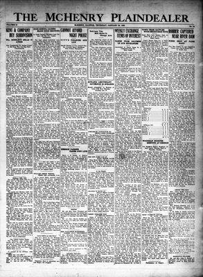 McHenry Plaindealer (McHenry, IL), 26 Jan 1928
