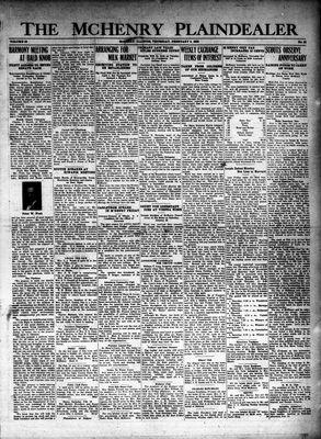 McHenry Plaindealer (McHenry, IL), 9 Feb 1928