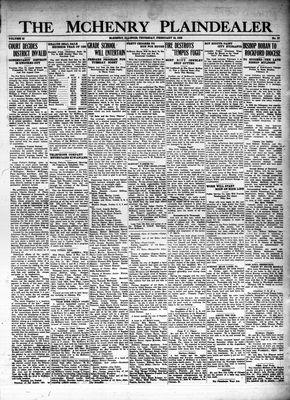 McHenry Plaindealer (McHenry, IL), 16 Feb 1928