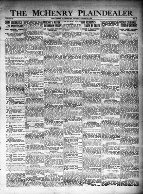 McHenry Plaindealer (McHenry, IL), 22 Mar 1928