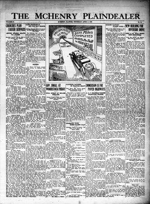 McHenry Plaindealer (McHenry, IL), 5 Apr 1928