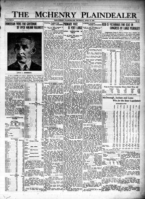 McHenry Plaindealer (McHenry, IL), 12 Apr 1928