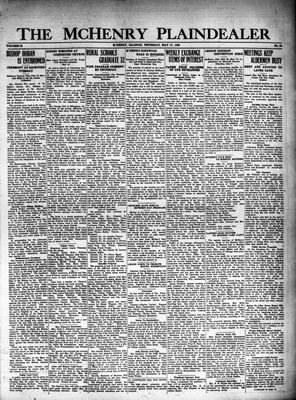 McHenry Plaindealer (McHenry, IL), 17 May 1928