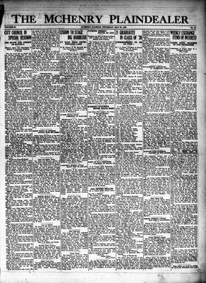 McHenry Plaindealer (McHenry, IL), 24 May 1928