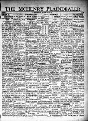 McHenry Plaindealer (McHenry, IL), 31 May 1928