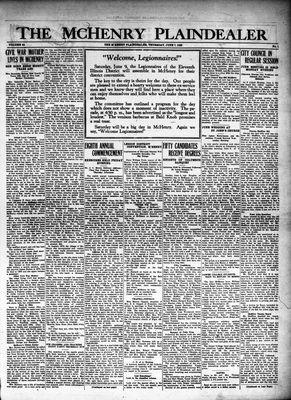 McHenry Plaindealer (McHenry, IL), 7 Jun 1928