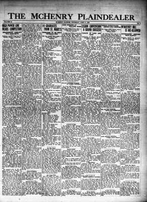 McHenry Plaindealer (McHenry, IL), 14 Jun 1928