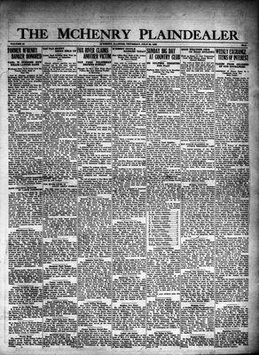 McHenry Plaindealer (McHenry, IL), 26 Jul 1928
