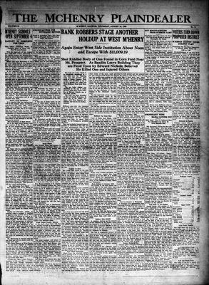 McHenry Plaindealer (McHenry, IL), 16 Aug 1928