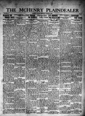 McHenry Plaindealer (McHenry, IL), 30 Aug 1928