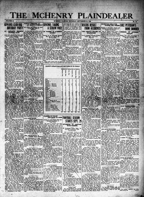 McHenry Plaindealer (McHenry, IL), 20 Sep 1928