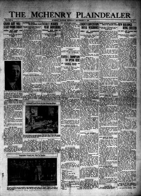 McHenry Plaindealer (McHenry, IL), 27 Sep 1928
