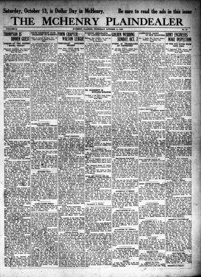 McHenry Plaindealer (McHenry, IL), 11 Oct 1928