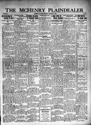 McHenry Plaindealer (McHenry, IL), 25 Oct 1928