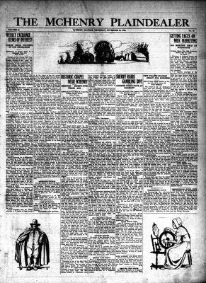 McHenry Plaindealer (McHenry, IL), 29 Nov 1928