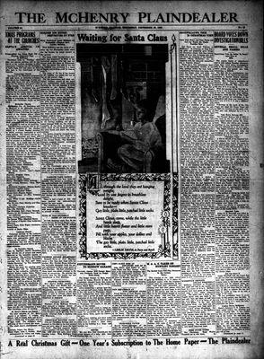 McHenry Plaindealer (McHenry, IL), 20 Dec 1928