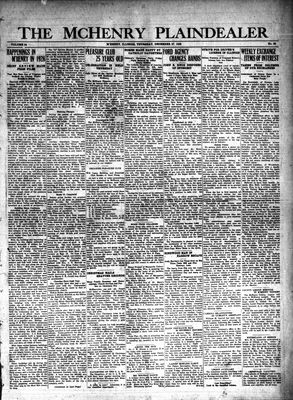 McHenry Plaindealer (McHenry, IL), 27 Dec 1928