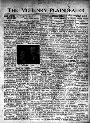 McHenry Plaindealer (McHenry, IL), 14 Feb 1929