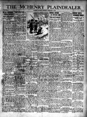McHenry Plaindealer (McHenry, IL), 21 Feb 1929