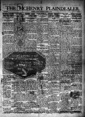 McHenry Plaindealer (McHenry, IL), 14 Mar 1929