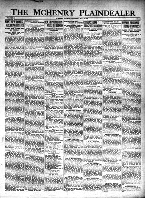 McHenry Plaindealer (McHenry, IL), 2 May 1929