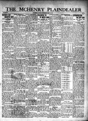 McHenry Plaindealer (McHenry, IL), 16 May 1929