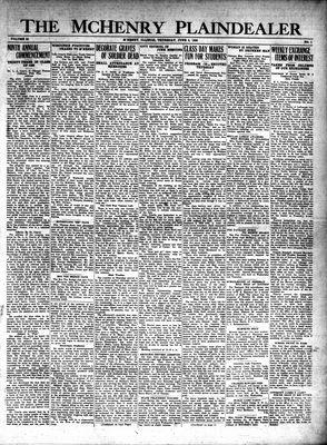 McHenry Plaindealer (McHenry, IL), 6 Jun 1929