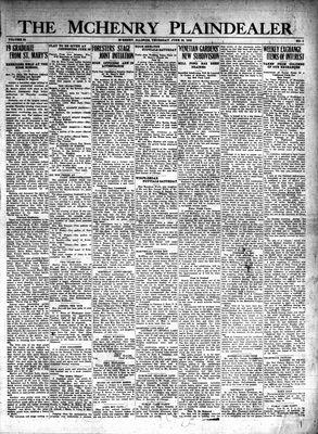McHenry Plaindealer (McHenry, IL), 20 Jun 1929