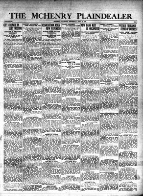 McHenry Plaindealer (McHenry, IL), 4 Jul 1929