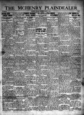 McHenry Plaindealer (McHenry, IL), 11 Jul 1929