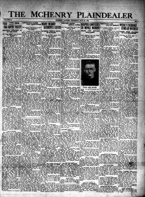 McHenry Plaindealer (McHenry, IL), 25 Jul 1929