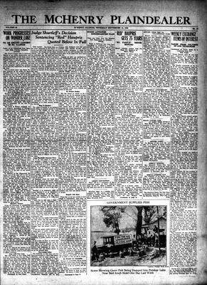 McHenry Plaindealer (McHenry, IL), 12 Sep 1929