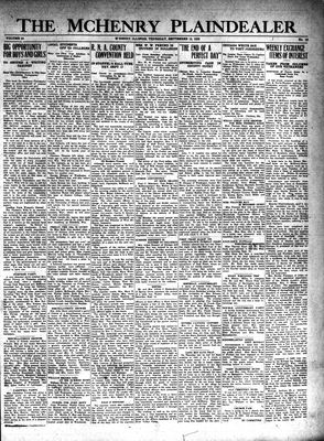McHenry Plaindealer (McHenry, IL), 19 Sep 1929