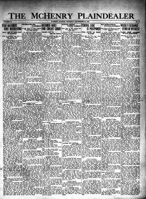 McHenry Plaindealer (McHenry, IL), 26 Sep 1929