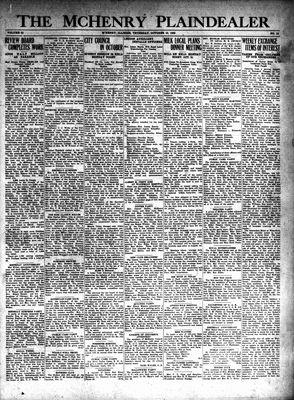 McHenry Plaindealer (McHenry, IL), 10 Oct 1929