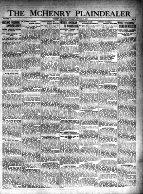 McHenry Plaindealer (McHenry, IL), 31 Oct 1929