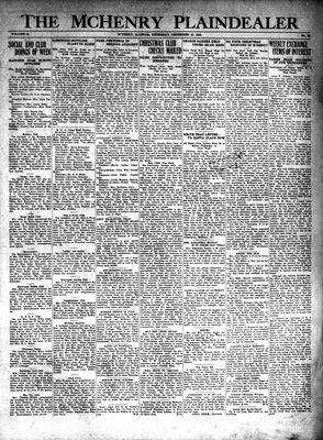 McHenry Plaindealer (McHenry, IL), 12 Dec 1929