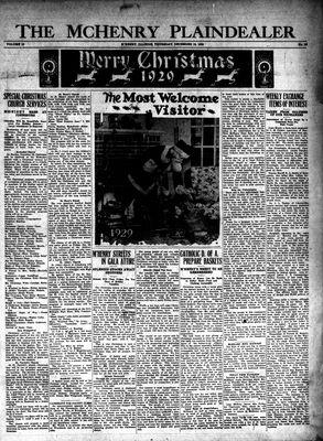 McHenry Plaindealer (McHenry, IL), 19 Dec 1929