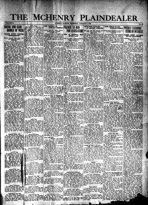 McHenry Plaindealer (McHenry, IL), 9 Jan 1930