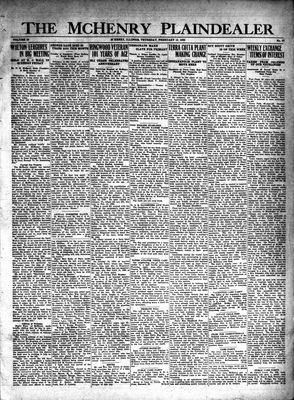 McHenry Plaindealer (McHenry, IL), 13 Feb 1930