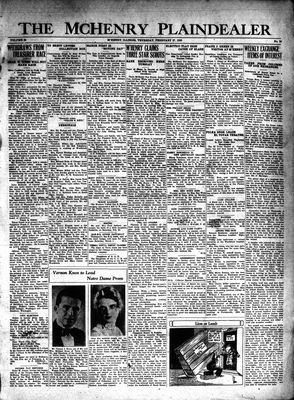 McHenry Plaindealer (McHenry, IL), 27 Feb 1930